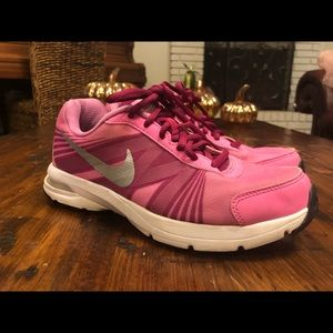 Nike Womans 6 Pink Purple Running Shoes 631430-500